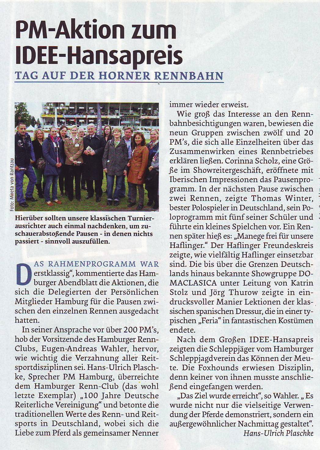 06-2013 HH-Horn Pferd+Sport 9-2013