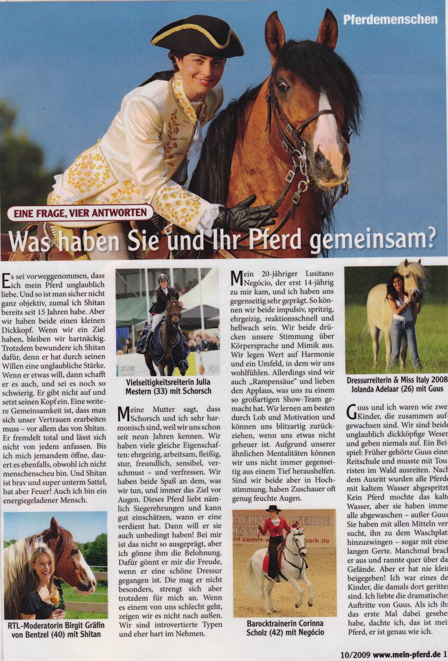 10-2009 Mein Pferd