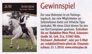 11-2010 Mein Pferd