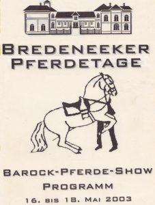 2003 Bredeneek 1